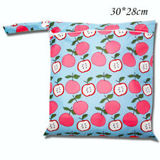 Small Waterproof Baby Wet Bag Nappy Bag For Cloth Swimming Nappies 30cm x 28cm