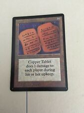 MTG MAGIC BETA COPPER TABLET (NM)