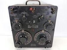 General Radio Genrad 1603 A Z Y Audio Wide Impedance Test System Lcr Bridge