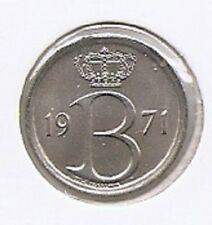25 cent 1971 frans * F D C uit muntenset *