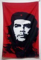 Che Guevara Flag 5ft x 3ft cuba cuban rebal banner with 2 eyelets new