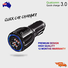 Fast Charging Car Charger for Phone QC Dual USB Adapter Cigarette Lighter Socket