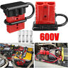 50A Battery Quick Connect Disconnect Kit Wire Harness Plug Winch Trailer FAN