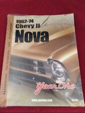 2002 Year One Catalog 1962-74 Chevy II Nova Parts Accessories Restoration R6105