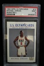 PSA 1992 IMPEL Olympicards Michael Jordan Basketball Graded Card 9 Mint