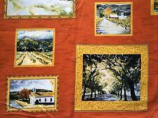 Clearance FQ Paesaggio Quadri Cornici Foto Wall Art alberi in tessuto