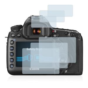 Canon EOS 5DS R  DSLR, 6 x Transparent ULTRA Clear Camera Screen Protector