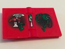 *NEW* 1 Piece Lego Minifig Utensil RED Book Harry Potter MUSHROOMS VINE Pattern