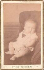 CDV Foto Schönes Kinderbild / Baby - Lauenburg 1880er