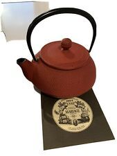 More details for mariage freres tea pot kettle cast iron - brand new in box