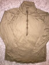 Sekri PCU Level 1 X LARGE Pullover Long Sleeve Shirt XL 1/2 Zip USA Coyote Brown