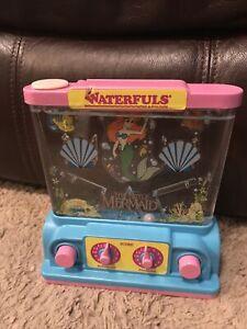 Vintage Disney Little Mermaid Waterfuls by Milton Bradley / Tomy