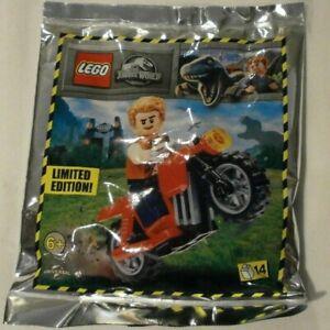 Lego Jurassic World   bike set 122114
