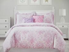 Cynthia rowley floral comforters bedding sets for sale ebay cynthia rowley kids 4pc pink purple paisley floral comforter set twin mightylinksfo