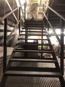 New Mezzanine Floor Staircase