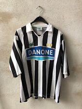 Maglia Calcio Juventus Kappa Danone Vintage Tg L #10