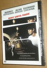WAIT UNTIL DARK SNAPCASE DVD, NEW & SEALED, WIDESCREEN, REGION 1, NAIL-BITING!
