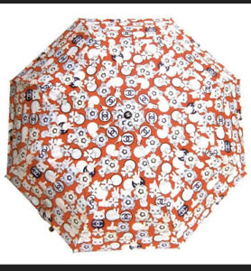 Chanel Umbrella With Cover Push Button Operated VIP Cool Cat for Cat Lovers