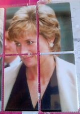 Uk Princess Diana phonecards new puzzle set of 4 in Colour. Limited Edition 400.