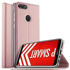 Handy Hülle Huawei P Smart Book Case Schutzhülle Tasche Slim Flip Cover