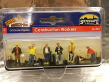 ** Bachmann 36-042 Lineside Construction Workers (6) 1:76 00 Scale