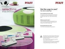 New listing Pfaff Select 1528 1538 1548 Instructions User Guide Manual Color Copy
