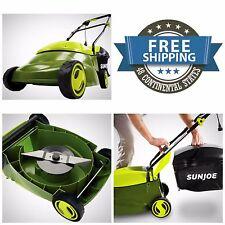 Lawn Mower Sun Joe 14 In.12 Amp Corded Electric Walk-Behind Eco-Friendly New