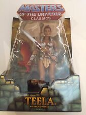 Masters Of The Universe Classics TEELA first release 2008 MOC MOTUC HE-MAN