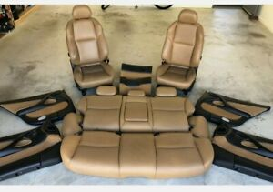 Holden Adventra Tan Leather Interior