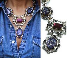 Topshop beautiful faux crystal jewel diamante statement collar necklace