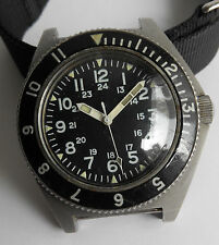Vintage Benrus Military Diver's Watch Type 2 Class A In 1973 - All Original