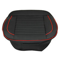 Breathable PU Leather Car Seat Cover Pad Protect Mat Auto Chair Cushion Black UK