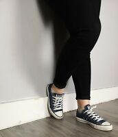 Women's Converse Chuck Taylor All Star Low Tops Canvas Blue Size UK 5