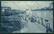 Foggia San Severo cartolina QQ4891