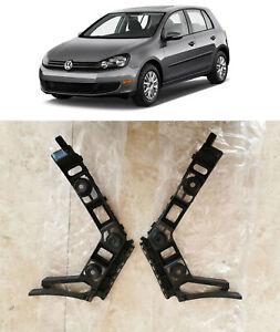 Rear Bumper Cover Brackets 5K6807393C 5K6807394C for 2010 2014 Volkswagen Golf