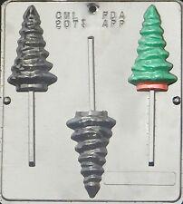 Christmas Tree Lollipop Chocolate Candy Mold Christmas  2073 NEW