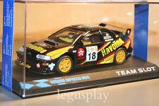 "Slot SCX Scalextric Team Slot 10608 Subaru Imprezza WRC ""Havoline"""