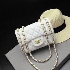 (USA) mini 20cm Handbag Lambskin Classic Quilted Sheepskin Leather Lady Bag whit