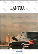 DEPLIANT BROCHURE PROSPEKT - HYUNDAI LANTRA - ITALIANO 1995
