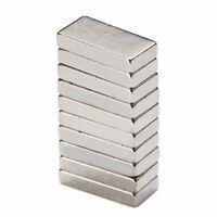 10 Stück 10*5 * 2mm Dauerhafter N52 Neodym seltener Erdmagnet Block Magneten