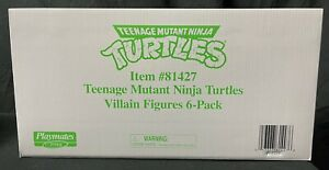 PX Exclusive Playmates TMNT Mutant Module Retro Villains 6-Pack NEW Turtles 2021