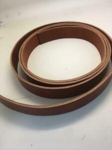 ALM 9/10OZ Leather Strap LATIGO Blank Belt 1 1/2 In Wide 50 60 72 84 Long #BROWN