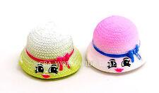 NEW Shopkins Season 4 Fashion Spree Figures - Pink & Green Hattie Hat - SET OF 2