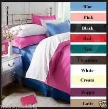 Super King Bed Size 100% Cotton Flannelette Sheets Fitted Flat & Bedding Sets