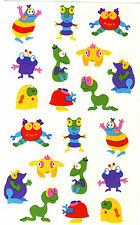 Mrs. Grossman's Giant Stickers - Endorfun Kids - Little Monsters - 2 Strips