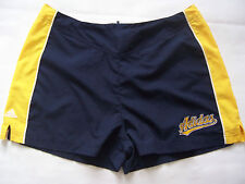 SHORT Collector Adidas polyester femme neuf année 2002 taille 42 marine  jaune