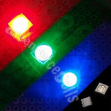 10 pcs PLCC-6 5050 SMT SMD 3 CHIPS RGB 1500mcd LED Llight Lamp Red Blue Green