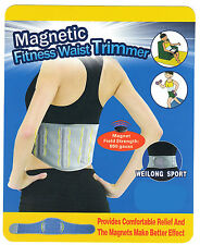 Magnetic Waist Trimmer - Slimming Belt Lumbar Support Weight Loss