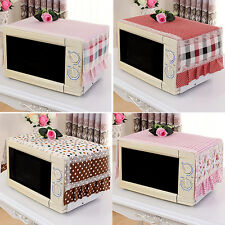 Home Decor Microwave Oven Cover Household Cloth Art Dust Cover