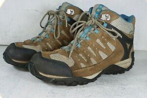 Merrell Waterproof Kangaroo Celestial Womens Size 10 Brown Blue Hiking Boots